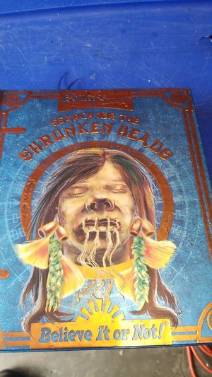 Ripley's Search Of The Shrunken Heads for Sale in Kent, WA