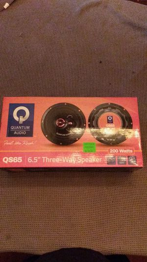 "NEW!! 6.5"" Three-Way Speaker for Sale in York, PA"