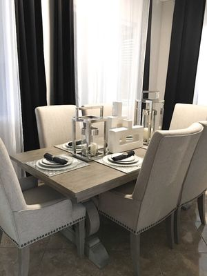 Dining table and 6 chairs for Sale in Corona, CA