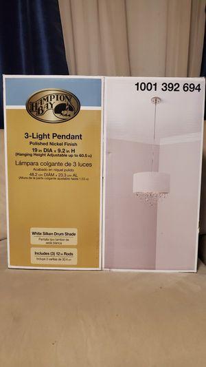 Hampton Bay- 3 Light Pendant/Chandelier for Sale in Tucson, AZ