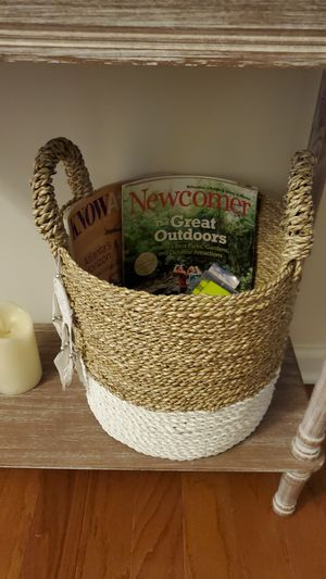 Set of 2 Baskets - Plant or Magazines for Sale in Smyrna, GA