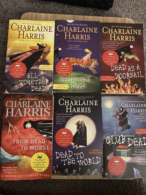 True Blood Series (6 books only) paperback for Sale in Perris, CA
