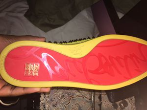 Yellow christian louboutin 350$ for Sale in Fort Lauderdale, FL