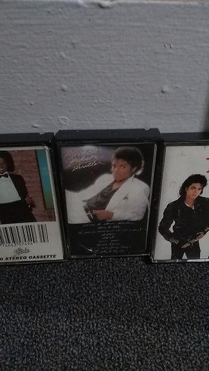 Michael Jackson cassettes for Sale in Detroit, MI