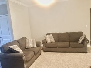 Couch Set and Glass Coffee Table for Sale in Dunwoody, GA