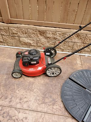 "Troy-bilt 21"" push mower for Sale in Perris, CA"