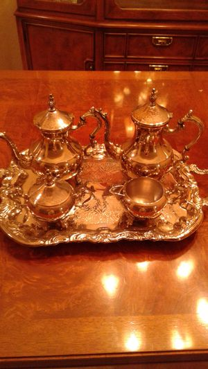Silver plated coffee/tea service for Sale in Port St. Lucie, FL