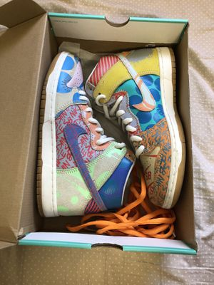VNDS Nike SB x Thomas Campbell 'What The Dunk' size 10.5 for Sale in Miami, FL