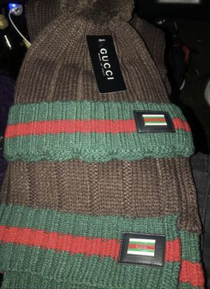 Gucci , hat , scarf new for Sale in West Haven, CT