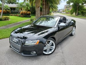 2011 Audi S5 Prestige Convertible Fully Loaded Upgraded Performance Exhaust for Sale in Miami, FL