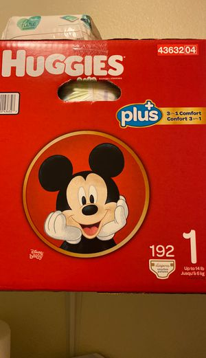 Huggies diapers size 1 for Sale in Mesa, AZ