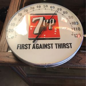 Vintage 7-Up /thermometer for Sale in Yorba Linda, CA