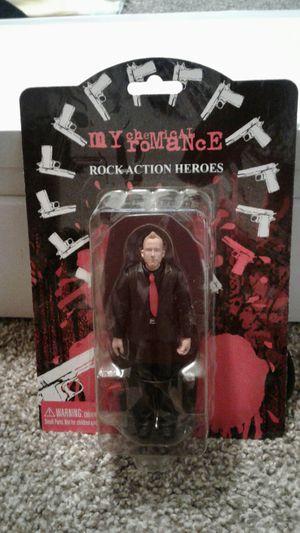 My Chemical Romance Rock Action Figure Of Bob Bryar for Sale in Salt Lake City, UT