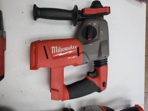 Milwaukee Fuel M18 sds hammer drill 150$!!! Tool only for Sale in Fort Worth, TX