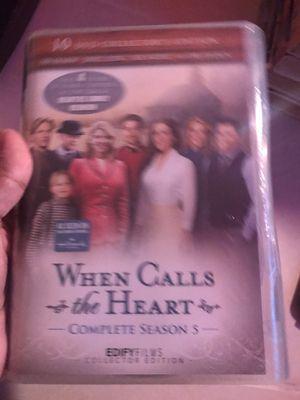 When calls the heart dvd season 5 for Sale in Lakeland, FL
