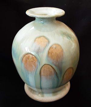"Mid century modern 5"" artist art pottery vase signed KDA for Sale in Saginaw, MI"
