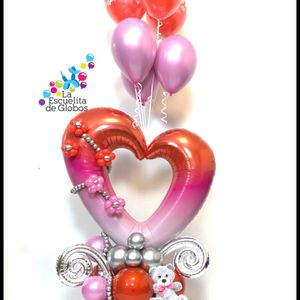 San Valentines Balloons Bouquet for Sale in Fort Lauderdale, FL
