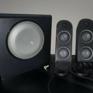 Logitech Wall Mountable Speakers w/ Subwoofer for Sale in Washington, DC