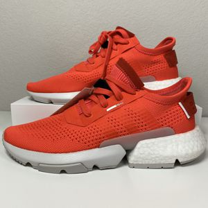 ADIDAS P.O.D. S3.1 SHOCK RED MEN'S RUNNING SHOES SIZE 9 NEW for Sale in Lewisville, TX