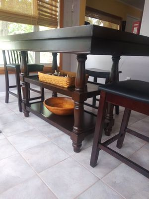 Dining table. 2 chairs. 2 benches for Sale in Merritt Island, FL