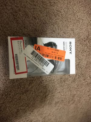 sony wired headpone brand new for Sale in Austin, TX