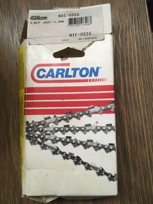 Carlton chainsaw chain for Sale in Hesperia, CA