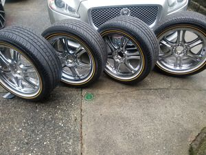 Vogue tires 235/50R 18 with 97% tread for Sale in Seattle, WA
