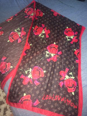 Louis Vuitton rose scarf for Sale in Clearwater, FL