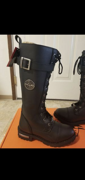 Women's leather boots, brand new in box for Sale in Auburn, WA