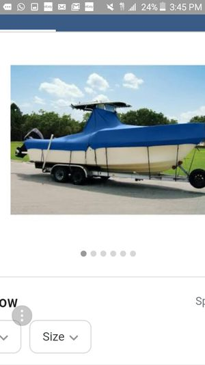 Taylor made boat cover item 74204ob paid 500 for Sale in Hialeah, FL