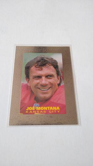 1994 Premiums Revolution #R-9 Joe Montana Kansas City Chiefs for Sale in Bremerton, WA