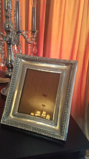 $90.00 - Large Pewter Picture Frame, Original Mexican Pewter - Please read description for Sale in Miami, FL