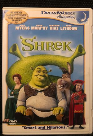 Shrek DVD for Sale in Bakersfield, CA