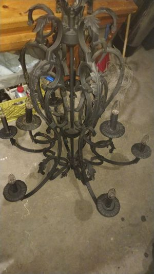 Wrought iron chandeliers for Sale in Moreno Valley, CA