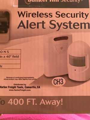 🍎🍏🍎 WIRELESS SECURITY SYSTEM 🍎🍏🍎 for Sale in Highland, CA