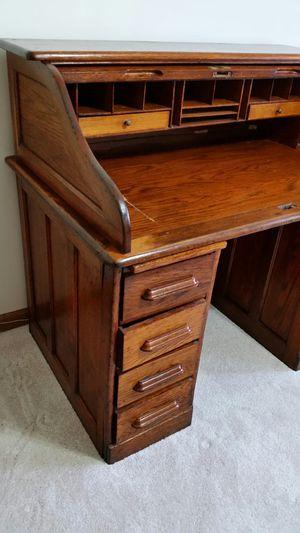 Antique Roll Top Desk for Sale in Marietta, GA