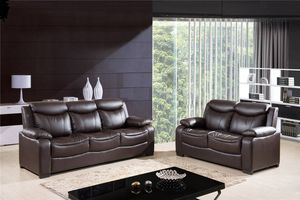 New Brown Sofa loveseat set 2 pc for Sale in Baltimore, MD
