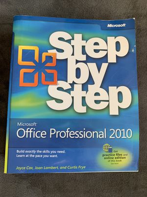Step by step Microsoft office 2010 for Sale in Costa Mesa, CA