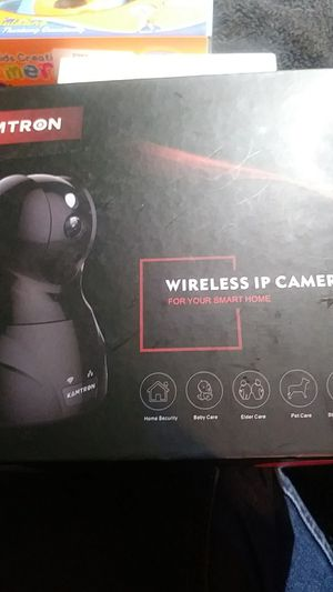 Kamtron Wireless IP Camera for Sale in Chino, CA