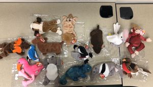 Lot of Extremely Rare Beanie Babies Vintage 1993-1999 for Sale in Pembroke Pines, FL
