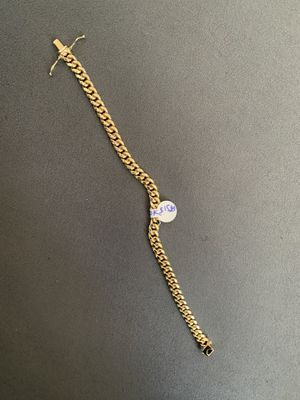 6mm Cuban box lock bracelet for Sale in Boston, MA