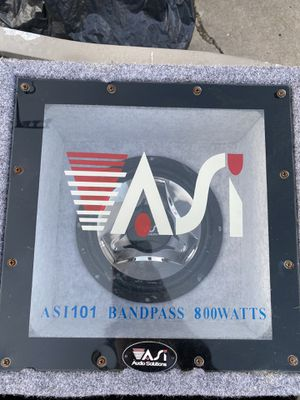 Audio solutions car speaker for Sale in San Diego, CA