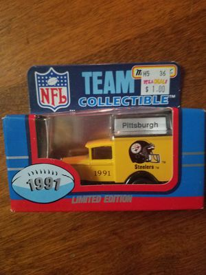 1991 Matchbox Team Collectibles truck Pittsburgh Steelers for Sale in Newburgh, IN