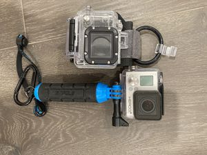 GoPro hero 3 with waterproof casing for Sale in Royal Palm Beach, FL