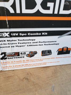 Ridgid Combo kit for Sale in Duncan, SC