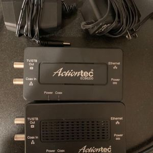 2* Actiontec Moca 2 Ecb6200 Ethernet to coax for Sale in Portland, OR