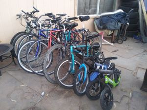 10 bikes some need repair for Sale in Phoenix, AZ