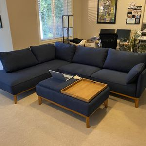 Left Arm Facing Jollene Sectional From Macy's for Sale in Portland, OR