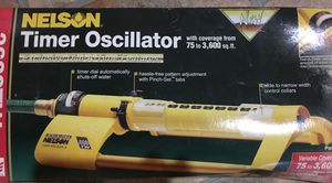 Nelson Oscillating Water Sprinkler System with Timer - New! for Sale in Ellenwood, GA