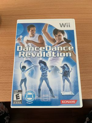 Dance Dance Revolution for Nintendo Wii (dance board not included) for Sale in San Diego, CA